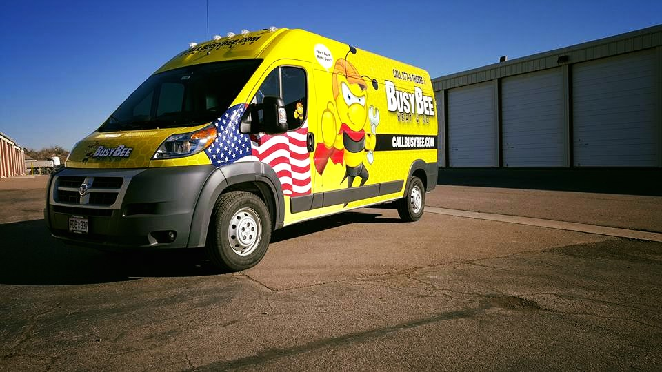 Custom Wrapped Vehicle in Denver