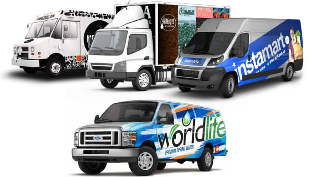 Commercial Truck Wraps
