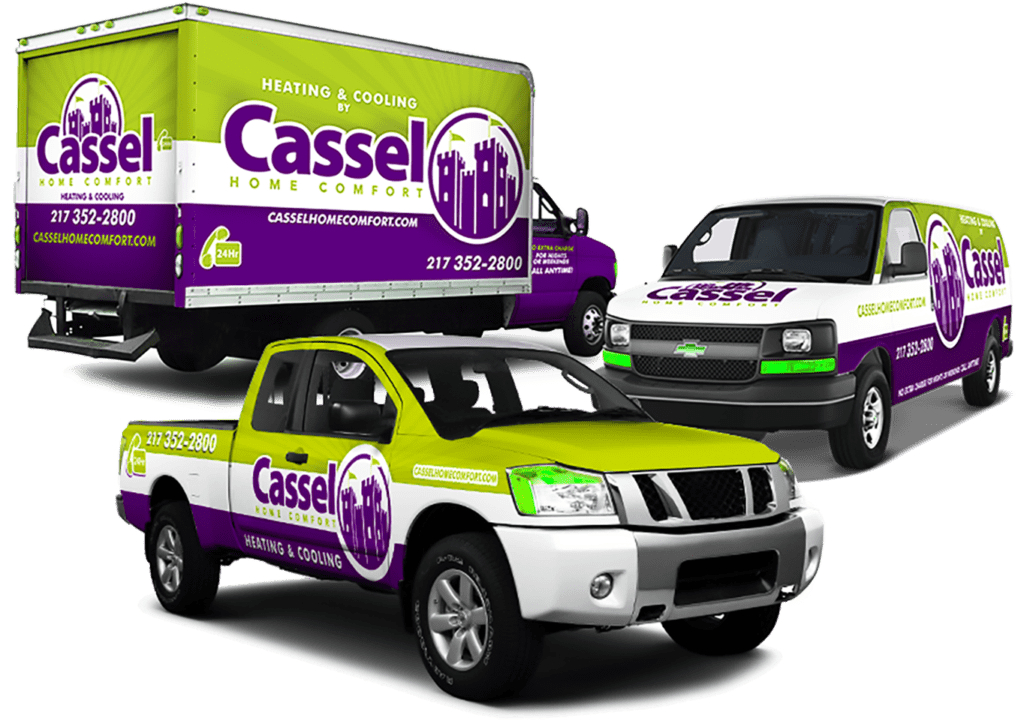 Commercial Fleet Vehicle Wraps