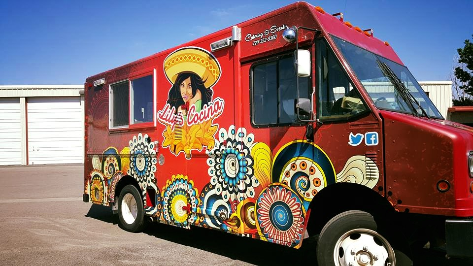 Food Truck Custom Wraps