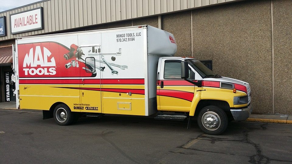 Mac Tools Truck Wrap